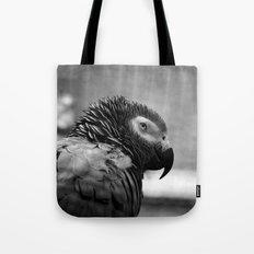 Grey Parrot Tote Bag