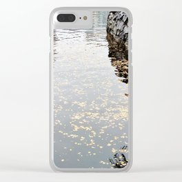 October 2 Clear iPhone Case