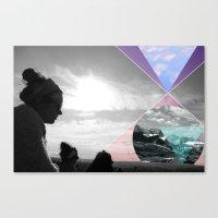 sasquatch Canvas Prints featuring Sasquatch by Claire Lester