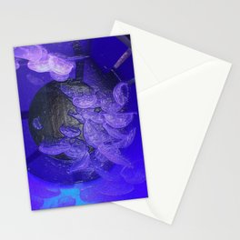 Acrylic Jelly Fish Stationery Cards