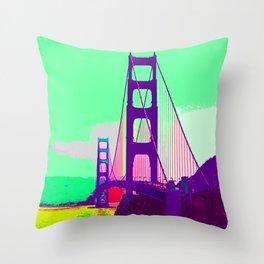 Golden_Gate_Bridge_005 Throw Pillow