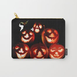 Jack-o-lantern Quintet Carry-All Pouch