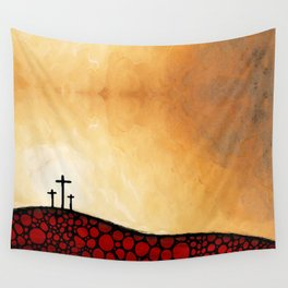 Forgiven - Christian Art By Sharon Cummings Wall Tapestry