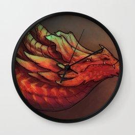 I bring you fire Wall Clock
