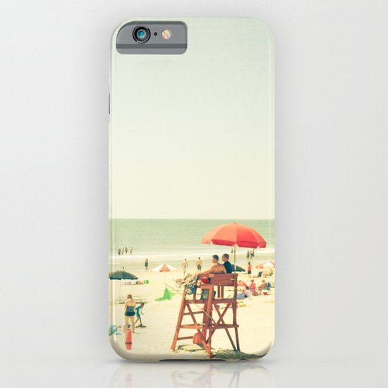 Day at the Beach iPhone & iPod Case