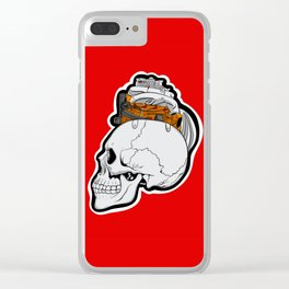 Petrol Head Clear iPhone Case