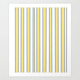 Strips 3-line,band,striped,zebra,tira,linea,rayas,rasguno,rayado. Art Print