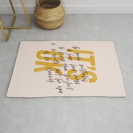 Its OK quotes Rug