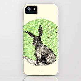 A rabbit iPhone Case