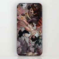 theater iPhone & iPod Skins featuring Theater of Lucid Dreaming by Rudy Faber
