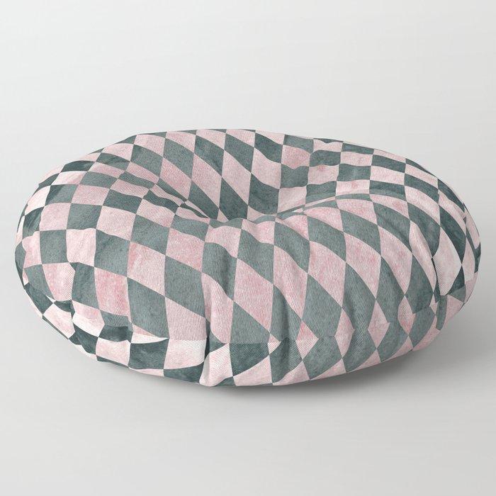 Marble Harlequin Floor Pillow