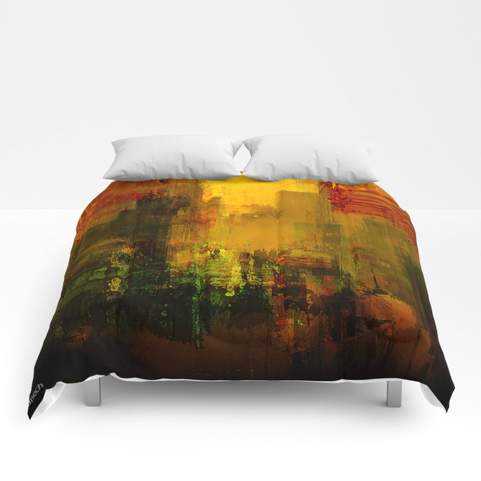 Yellow City Comforters