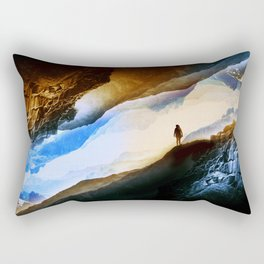 Vision of fire and ice Rectangular Pillow