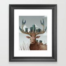 Unwelcome Visitor Framed Art Print