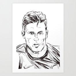 Giroud Art Print