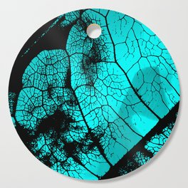 Aqua leaf Cutting Board