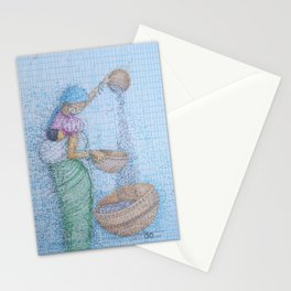 Separate The Chaff Stationery Cards