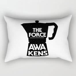 Coffee - The Force Awakens Rectangular Pillow
