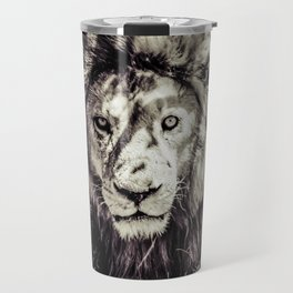 Mufasa stares back Travel Mug