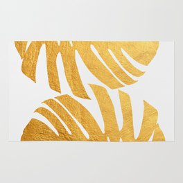 Golden leaf XIII Rug