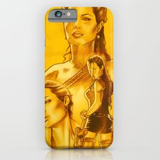 Angelina Jolie - Série Ouro Slim Case iPhone 6s