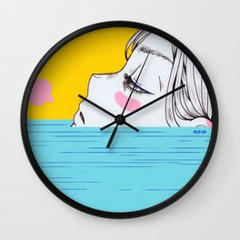 Lull Wall Clock