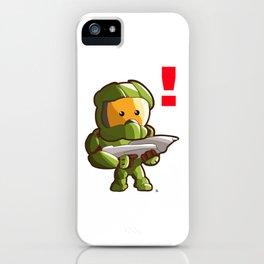 Halo Master Chief Kawaii iPhone Case