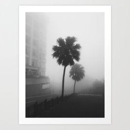 Whispering Fog Art Print