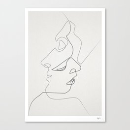 Close Canvas Print