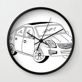 My Friends' Cars - Sentra Wall Clock