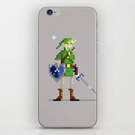Pixel Link iPhone Skin
