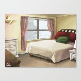 Bedroom Canvas Print