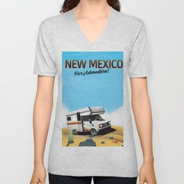 New Mexico - For Adventure Unisex V-Neck