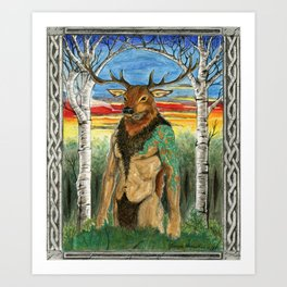Herne the Hunter Art Print