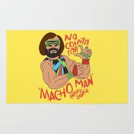 NO COUNTRY FOR MACHO MAN Rug