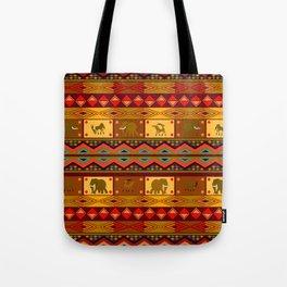 Ethnic pattern Tote Bag