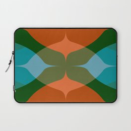 Modern Groove - Biscay Green Laptop Sleeve
