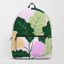 fiddle leaf fig Backpack