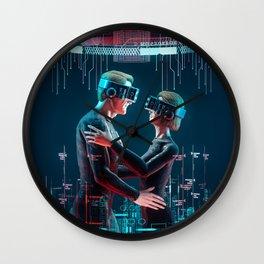 Virtual Lovers Wall Clock