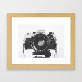 Vintage happy snap Framed Art Print