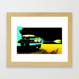 Time Lapse Bullet Framed Art Print