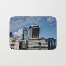 The walkie Talkie and Cheese Grater Bath Mat