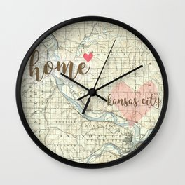 Love KC Wall Clock
