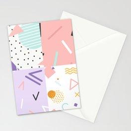 Memphis Style V Stationery Cards