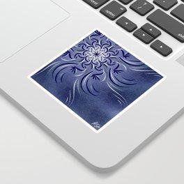 Lavender Flourish Sticker