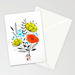 Blooming house Stationery Cards