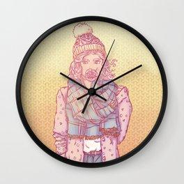 Iwazaru Sister Wall Clock