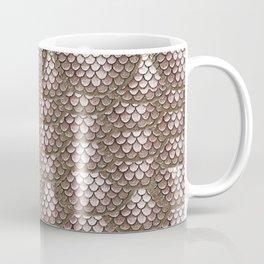 Brown Snake Skin Pattern Coffee Mug