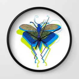 Cool Insect Wall Clock