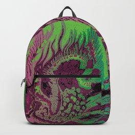 greenpink dragon Backpack